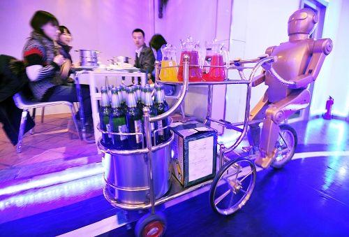 餐饮服务机器人
