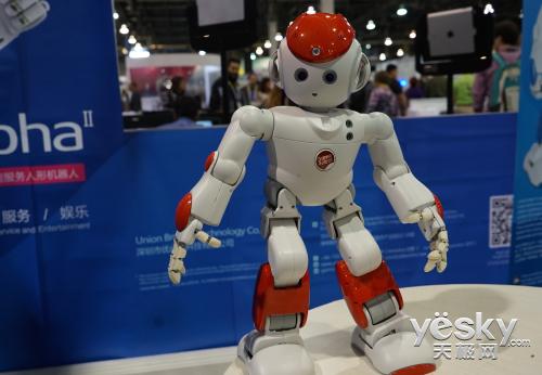 优必选智能娱乐机器人参加CES2015展会