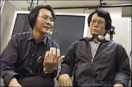 日本:石黑浩替身机器人现身
