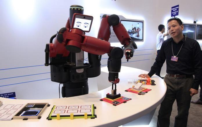 用于电路板组装的机器人