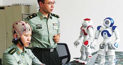 中国脑计划:带上头套可实现意念控制工具设备