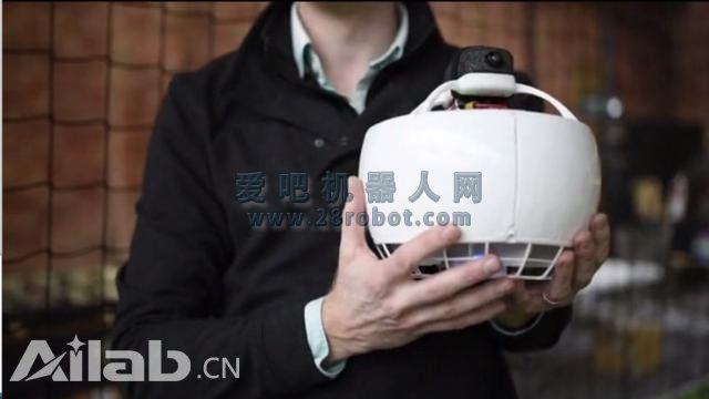 球形无人机Fleye登陆众筹 号称世界最安全