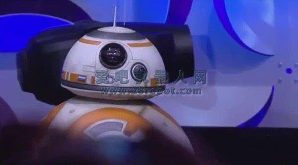 星球大战7正版机器人BB-8揭秘 腾讯获独家代理权