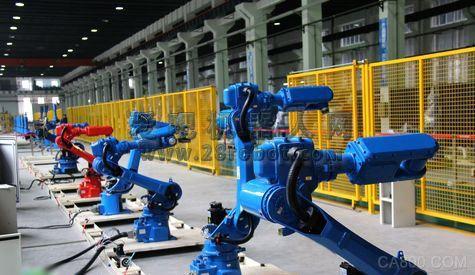 解析年我国工业机器人五大产业画面