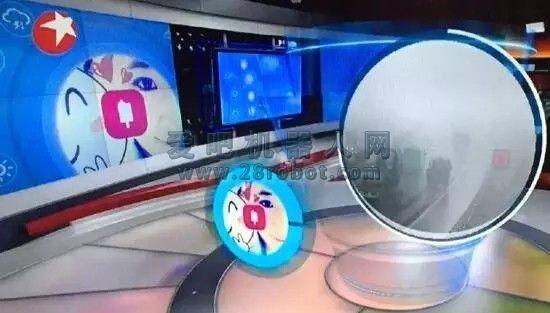 """微软""""小冰""""变身实习主播亮相东方卫视"""