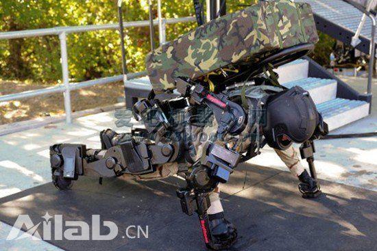 俄研发意念控制战斗外骨骼 让电脑识别人脑信号