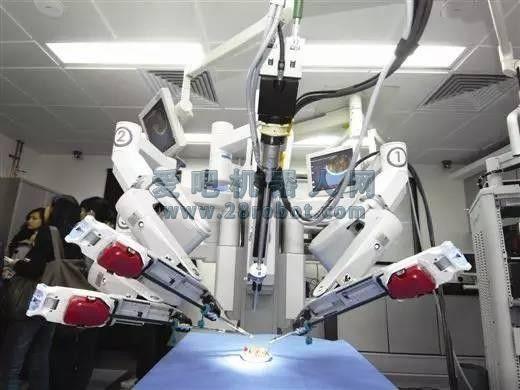 """医院用""""达芬奇""""打造机器人医生军团!"""