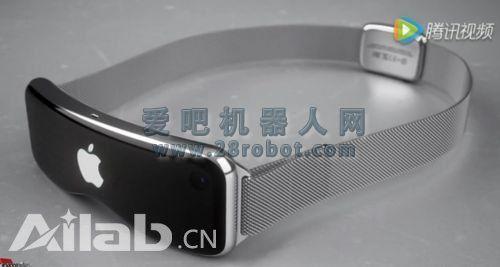 苹果设计师曝光VR:设计简约科技感十足