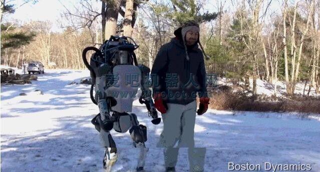 Real机智:新一代谷歌机器人ATLAS已逆天