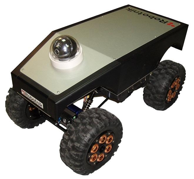 Summit 轻量型移动机器人