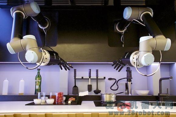 机器人掌管厨房的时代到底多久才能到来?