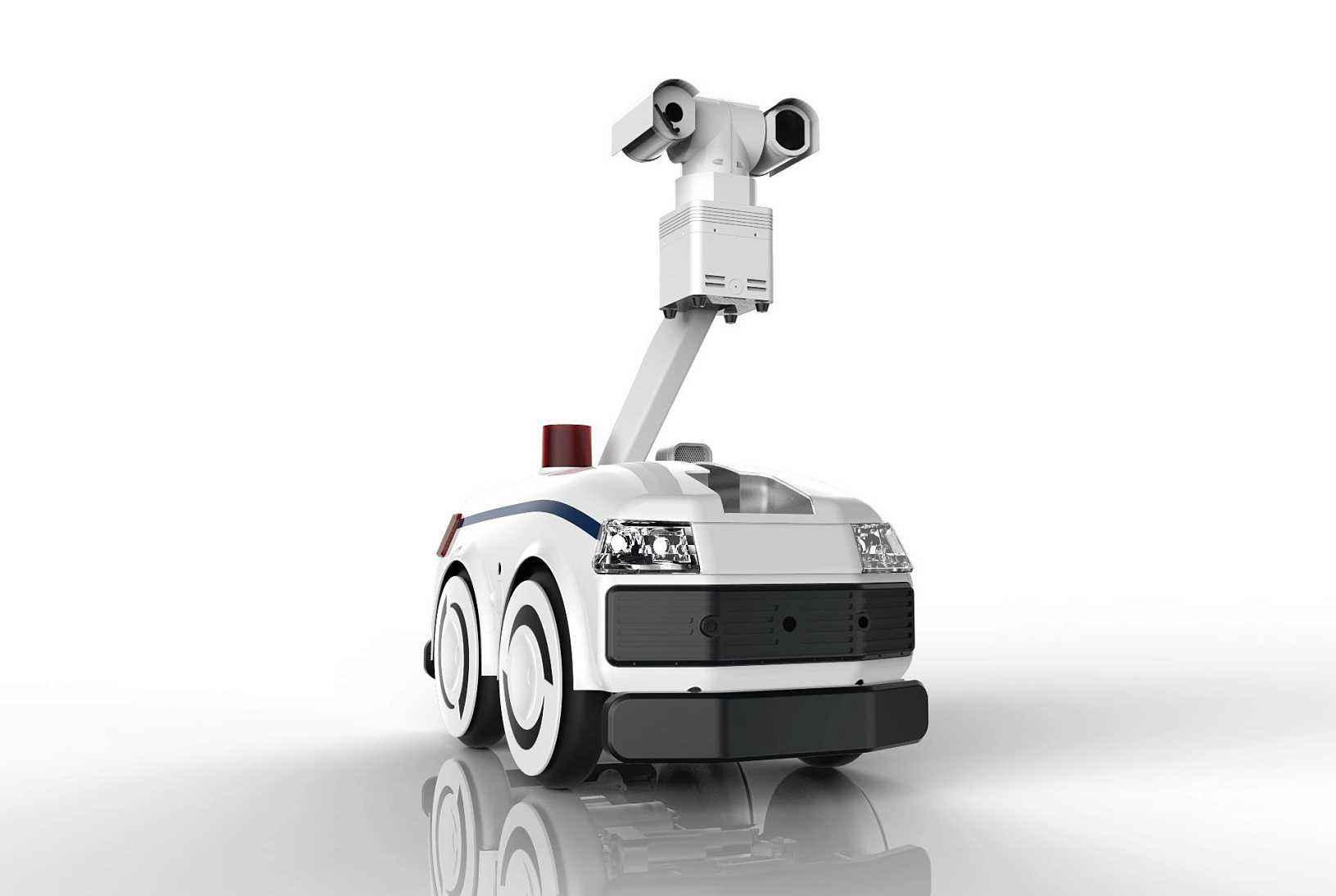 一带一路倒计时 巡检机器人保驾护航
