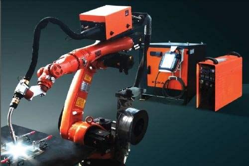 鸿基推出高速低飞溅焊接机器人!