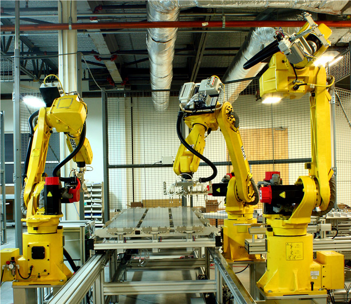 2022年全球工业机器人市场将达到790亿美元