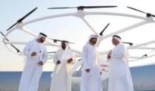 """迪拜测试无人""""飞的"""" 野心勃勃的""""无人机载客服务""""或将成为现实"""