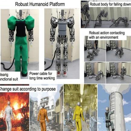 RHP2机器人:一款能自己爬起来的机器人
