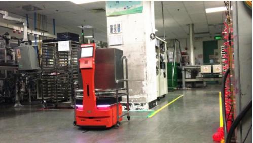 AICRobo工业自主搬运机器人测试成功 搬运送货双管齐下