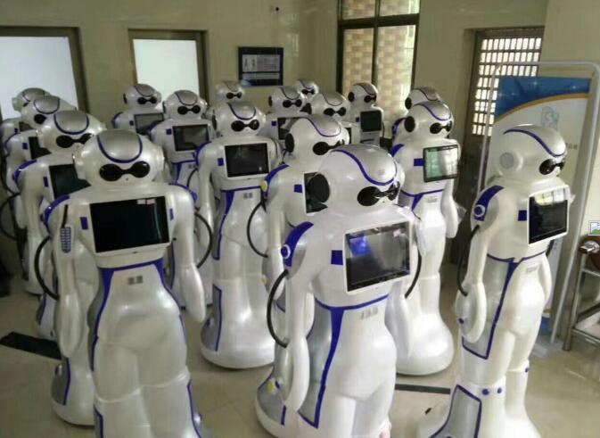 卡伊瓦高科技导购营销迎宾机器人