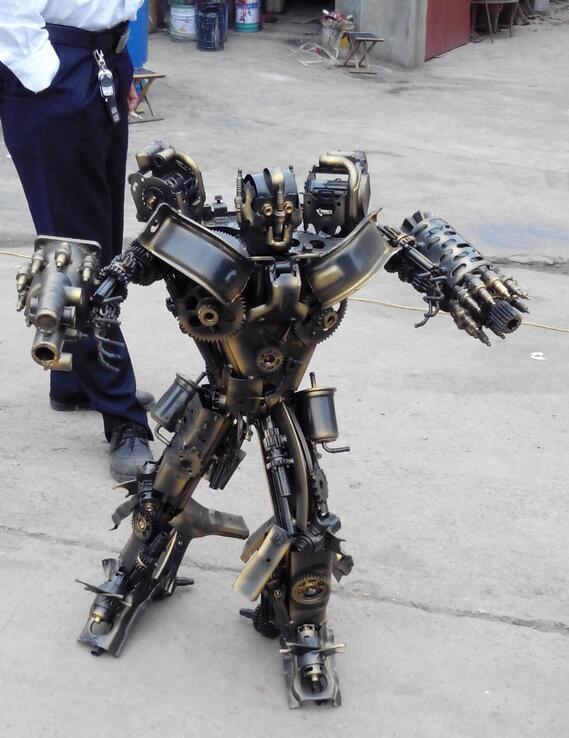 油桶机器人