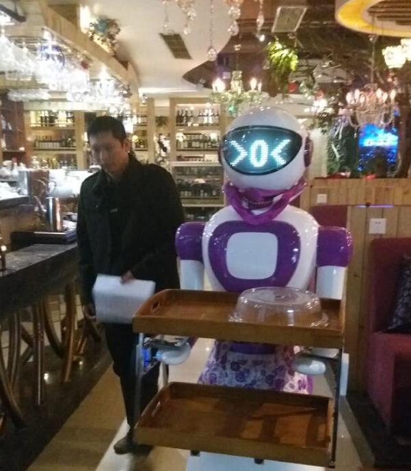 传菜送菜机器人
