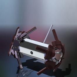 聚特微型侦查机器人