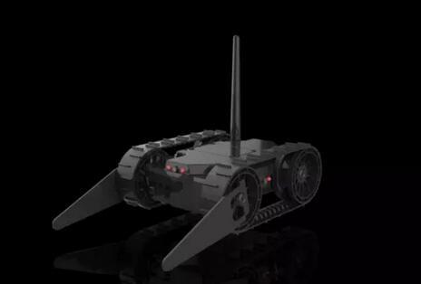 """通产智能的智能安保机器人""""坦克"""""""