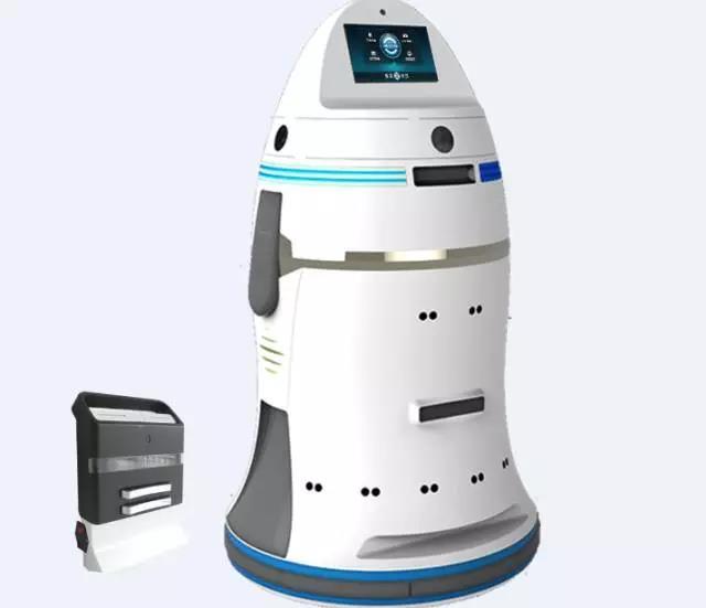 万为智能安保服务机器人ANBOT
