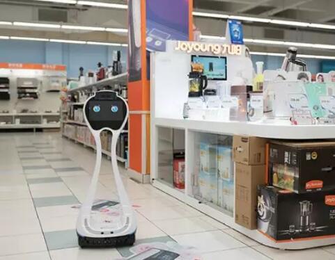 小船导购机器人