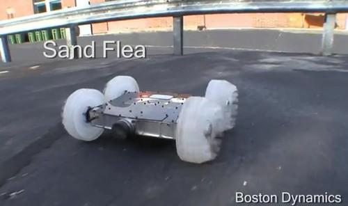 波士顿动力SandFlea机器人
