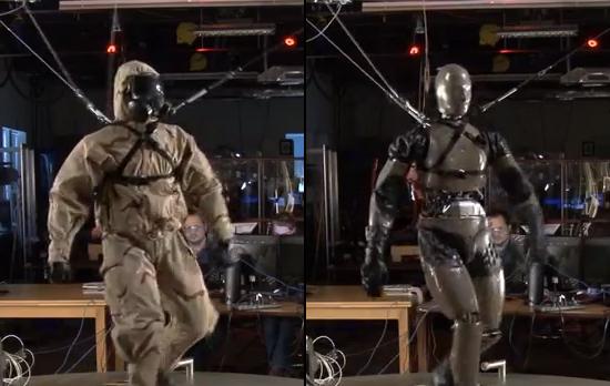 波士顿动力PETMAN 机器人