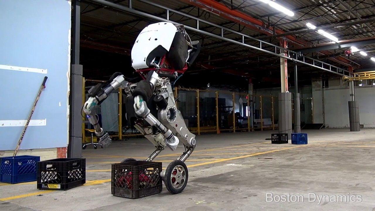 波士顿动力Handle机器人