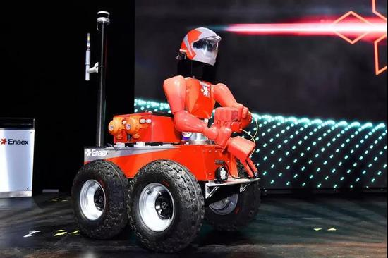 采矿机器人RoboMiner:将代替矿工去完成危险工作