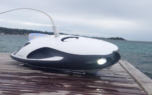 水下机器人PowerRay小海鳐试水体验活动
