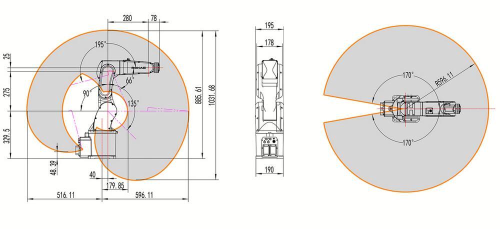 珞石XB4工业机器人