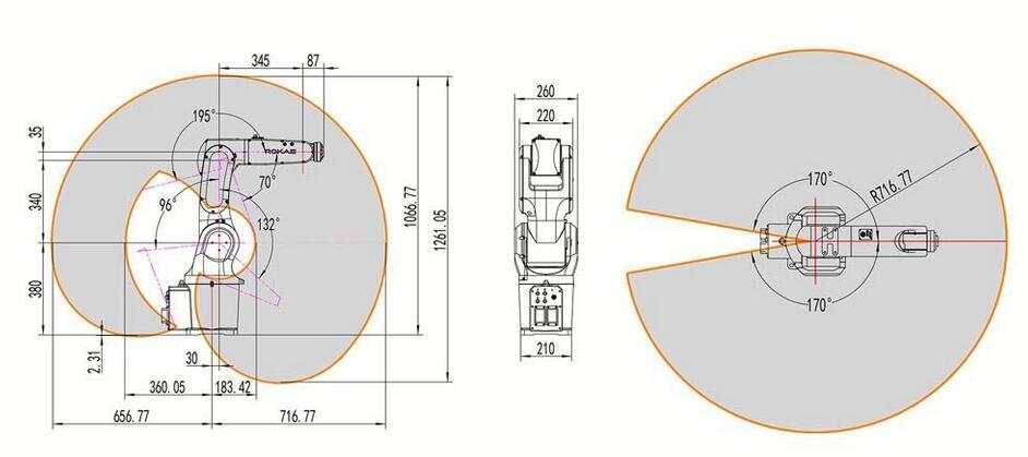 珞石XB7工业机器人