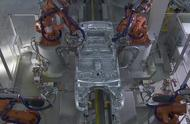 德国用机器人制造汽车