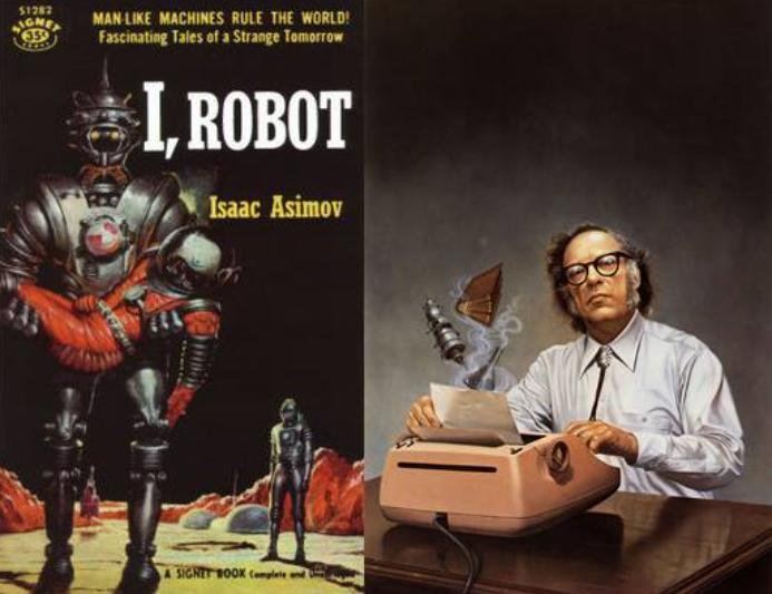 艾萨克·阿西莫夫与他的小说《我,机器人》
