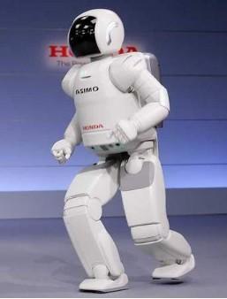ASIMO机器人跑步