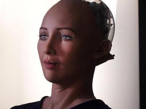 汉森机器人索菲亚