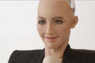 索菲亚机器人