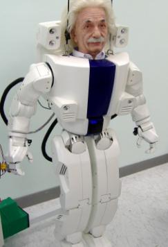 美国汉森机器人的爱因斯坦机器人