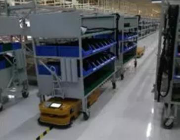 AGV智能机器人自动配送解决方案