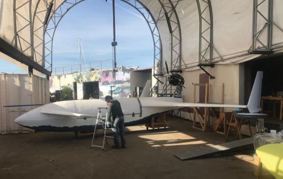 美国Natilus公司试飞水上无人货机 设计简单成本降低