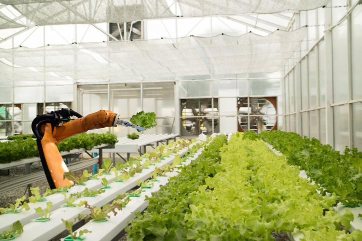 农业将为高科技行业 农业机器人的应用领域
