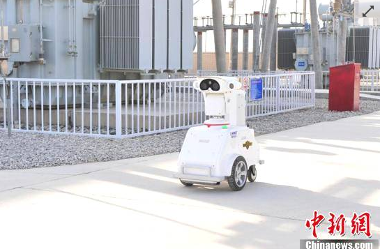 人工智能机器人进油田 巡视频率是人工的21倍