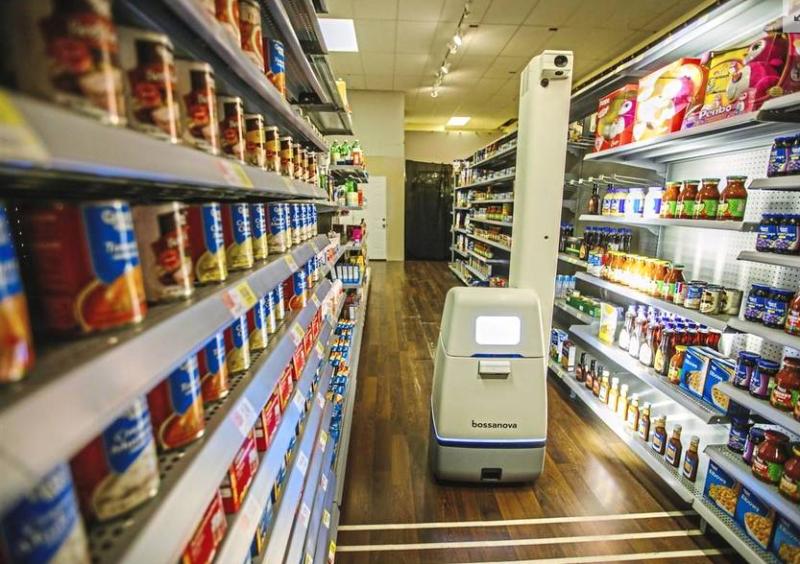 机器换人已经开始 沃尔玛超市已用上机器人