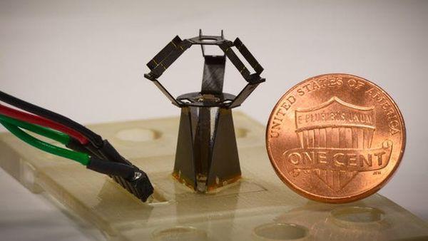 哈佛大学的工程师打造出全球最小的Delta机械臂