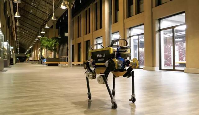 成精了!苏黎世联邦理工学院这只机器狗不输波士顿SpotMini