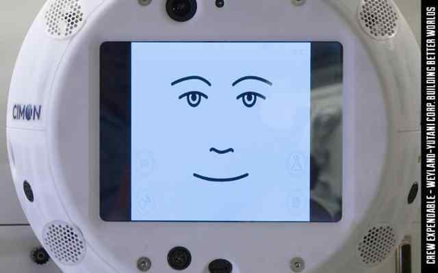 CIMON漂浮机器人头部将人工智能带入国际空间站