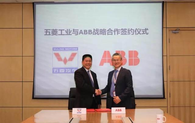 ABB机器人与五菱工业达成战略合作 携手提升汽车智能制造水平
